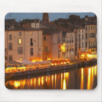 Restaurants along the l'Herault river. L'Herault Mouse Pad