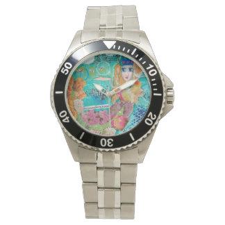 Restaure inoxidable roban el reloj