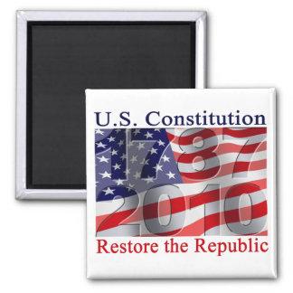 Restaure los imanes de la república imán cuadrado
