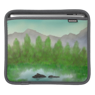 Restful Lake I-Pad Cover Sleeve For iPads