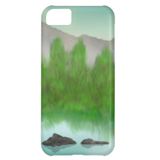 Restful Lake iPhone 5C Covers