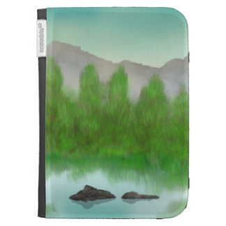 Restful Lake Kindle Case