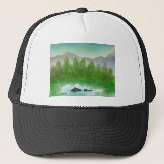 Restful Lake Trucker Hat