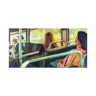 Restful Ride Canvas Prints