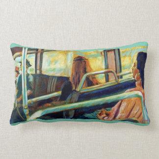 Restful Ride Throw Pillow