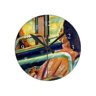 Restful Ride Wall Clock