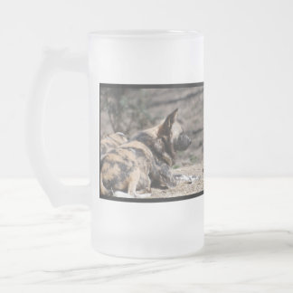 Resting African Wild Dogs Coffee Mugs