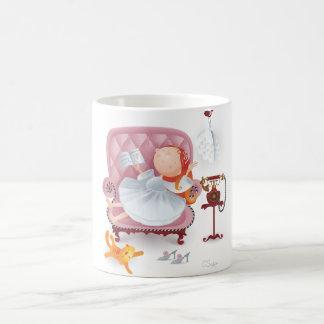resting angel coffee mug