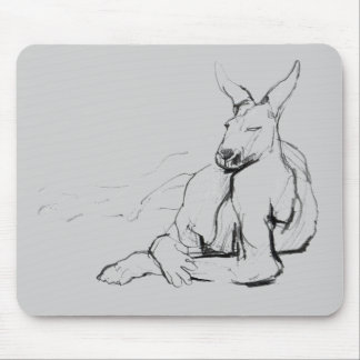 Resting Athlete Mouse Pad