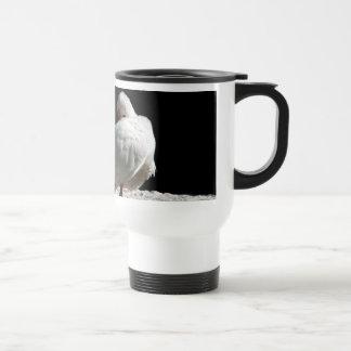 Resting Birds 15 Oz Stainless Steel Travel Mug