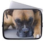 Resting Boxer Dog Notebook Bag Laptop Computer Sleeve