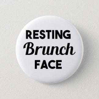 Resting Brunch Face Pinback Button