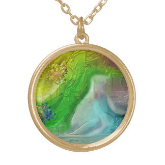 Resting by the Waters Gold Plated Necklace