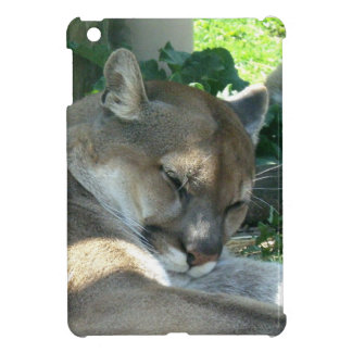 Resting Cougar Cover For The iPad Mini