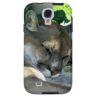 Resting Cougar Galaxy S4 Case