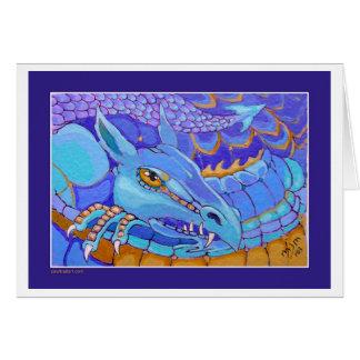 Resting Dragon Card