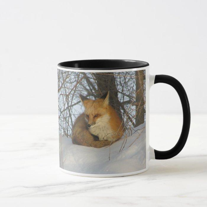 Resting Fox Mug