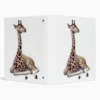 Resting Giraffe Binder
