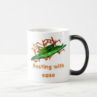Resting Grasshopper 11 Oz Magic Heat Color-Changing Coffee Mug
