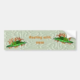 Resting Grasshopper Bumper Sticker