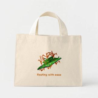 Resting Grasshopper Mini Tote Bag