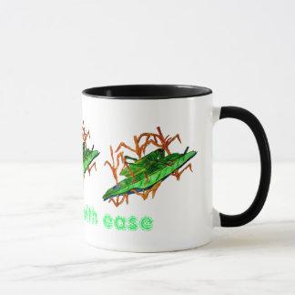 Resting Grasshopper Mug