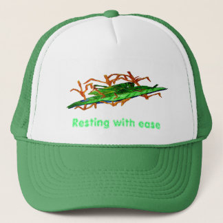 Resting Grasshopper Trucker Hat