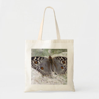 Resting Grey Butterfly Image - Budget Tote Bag
