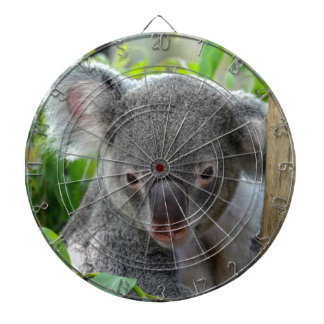 Resting, Happy Koala Dartboard
