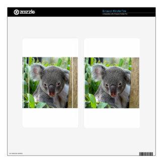 Resting, Happy Koala Kindle Fire Skin