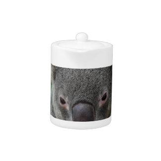 Resting, Happy Koala Teapot