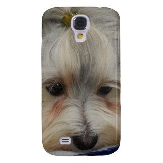 Resting Havanese Dog Galaxy S4 Case