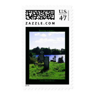 Resting in peace Postage Stamps
