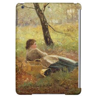 Resting iPad Air Case
