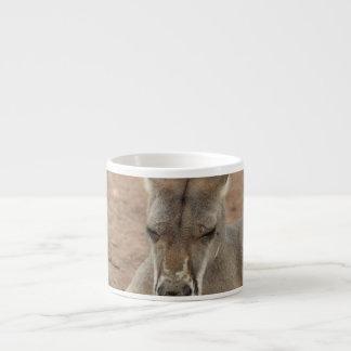 Resting Kangaroo Specialty Mug Espresso Cups