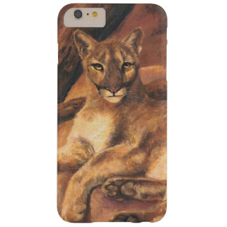 Resting Mountain Lion Barely There iPhone 6 Plus Case