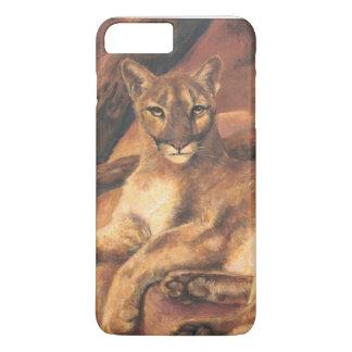 Resting Mountain Lion iPhone 7 Plus Case