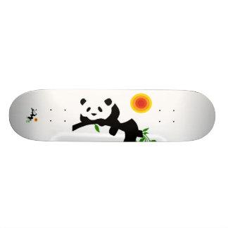 Resting Panda. Custom Skateboard