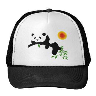Resting Panda. Mesh Hat
