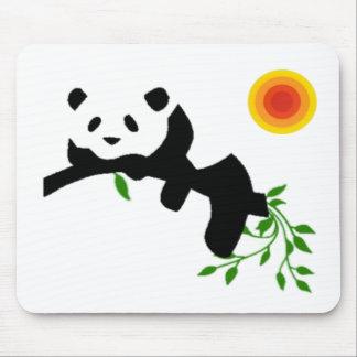 Resting Panda. Mouse Pads