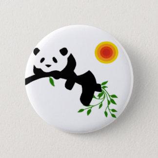 Resting Panda. Pinback Button