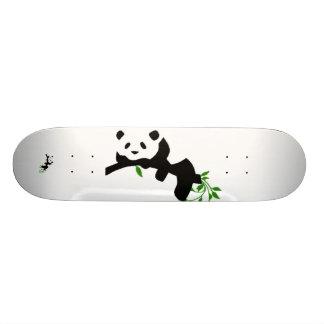 Resting Panda. Skate Board
