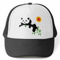 Resting Panda. Trucker Hat