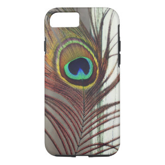 Resting Peacock Feather iPhone 7 Case
