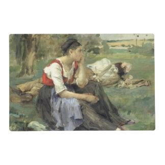 Resting Peasants, 1877 Placemat