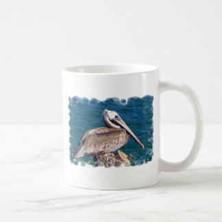 Resting Pelican Coffee Mug