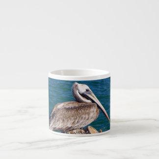 Resting Pelican Specialty Mug 6 Oz Ceramic Espresso Cup