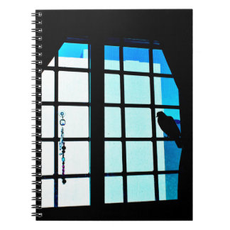 Resting Pigeon Notebook