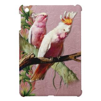 Resting Pink Cockatoos iPad Mini Case