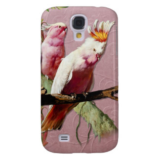 Resting Pink Cockatoos Samsung Galaxy S4 Cover